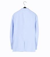 Vendi come torte calde Joker Tempo libero moda uomo giacca giacca cappotto corto di cotone sciolto vestito in stile occidentale