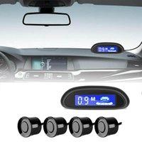 Автомобильные Вид сзади Камеры Паркинг Паркинг-радиолокационный монитор Детектор системы Паркинг-сигнал ЖК-датчик Parktronic ЖК-дисплей с 4 обратной резервной подсветкой