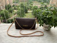 Yüksekliği kaliteli hakiki çanta kadın omuz çantası 40718 favori çanta mm gerçek deri 40717