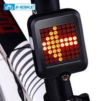 Inbike Bicycle Light Indicador de Dirtion Automático Light Bisiklet AKSESUAR USB CARGA DE CARGA DE MONTAÑA DE ADVERTENCIA DE SEGURIDAD 201110