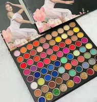Marka 80color Göz Farı Paleti Makyaj 80 Renkler Göz Farı Paleti Mat Yüksek Kalite Ücretsiz Kargo