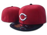 원피스 2021 여름 레드 레드 편지 야구 스냅 백 모자 Gorras Bones 남성 여성 신시내티 캐주얼 야외 스포츠 장착 모자