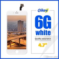 Черный белый монтажный ЖК-дисплей Digitizer для iPhone 6 AAA Quality ЖК-экран ЖК-экрана для iPhone 6 Нет мертвых пикселей с подарками