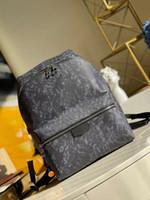 M57274 descoberta pm mochila casual elegante homens saco famosos bolsas de lona mochila womens saco de escola de alta qualidade Moda mochila viajar
