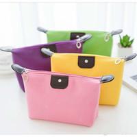 Alte Cobbler College Girl Kosmetiktasche Nylon Tuch Farbe Waschbeutel Stilvolle Reißverschluss Kleine Tasche Kostenlose Lieferung