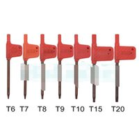 Screwdrivers Hand Home & Garden Drop Delivery 2021 T6 T7 T8 T9 T10 T15 T20 Torx Screwdriver Spanner Key Small Red Flag Screw Drivers Tools 20