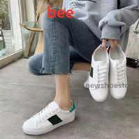 Sıcak Satmak Tasarımcı Sneakers Yaz Yeni Küçük Beyaz Ayakkabı 2021 Bahar Ve Yaz Yeni Lady Küçük Arı Rahat Ayakkabılar Erkek Tasarımcı Ayakkabı