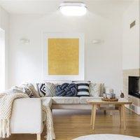 Marke 85-265V LED Deckenleuchte Quadratische Form Lichter Wohnzimmer Schlafzimmerlampe stufenlos Dimmen (18W) Hohe Helligkeit