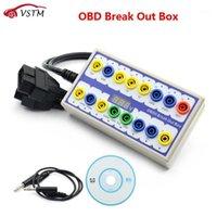 En iyi OBDII OBD2 Breakout Kutusu Araba OBD 2 Break Out Kutusu Araba Protokolü Dedektörü Otomatik Test edebilir Otomotiv Bağlayıcı Araba-Dedektörü1
