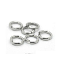 New Lasperal 500pcs Silver Color Stainless Steel Open Jump Rings 7mm X 1.2mm Jewelry Making Supp jllWCa home003