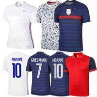 20 21 Pavaro França Thauvin Kimpembe Tolisso Varane Kante Mbappe Giroud Griezmann 2020 2021 Soccer Jersey Futebol Camisas Polo Homens Crianças 4xl