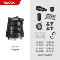 Adaptateur Snoot Godox SA-17 pour le projecteur Godox SA-P à Bowens Mount S30 VL150 SL-150W SL-200W VL200 VL300 LED Lumière continue