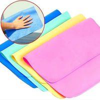 30 * 20 الصغيرة متعددة الوظائف الغزلان غسل الجلد / تنظيف سيارة PVA منشفة من جلد الغزال الاصطناعية