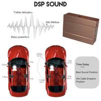 Araba GPS Aksesuarları ZWNAV Dijital Sinyal İşleme DSP Kutusu Harici TV Alıcı Radyo Dahili Çip