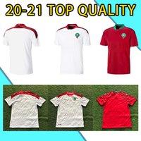 2020 2021 الأوروبية المغرب لكرة القدم الفانيلة المنزل بعيدا 20 21 المغرب مايلوت دي القدم زييك بوتايب بوسوفة قميص كرة القدم
