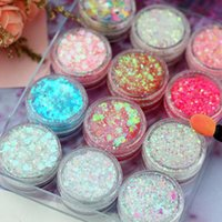 Lidschatten 22 Farben Pailletten Lidschatten Palette Meerjungfrau Diamant Gel Make-up Festival Party Makeup Kosmetik Maquiagem TSLM1