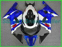 Custom blue white AE05 fairing kit for SUZUKI GSXR 600 750 K1 2001 2002 2003 GSXR600 GSXR750 01 02 03 motorcycle fairings kit
