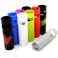 Carry colorido eGo Aio D22 Proect processo de silicone, borracha macia Capa Bag para a pele eGo Aio D22 bateria de protecção Food Grade DHL grátis