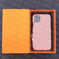 مصمم الأزياء 12 برو حالة الهاتف الفاخرة فون غطاء حالات العلامة التجارية عارضة ل زائد 7 8 7P 8P X XS MAX XR 11 SE2020 برو مع صندوق 20062806CE