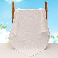 Одеяла Swaddling родился на 100% хлопок детское одеяло младенца муслин детские мягкие ванны для душа полотенце марлевые пелена, получающие 105см * 105см1