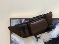 "Lv ""saco louis"" Designer ""Vitton 4OGG Christopher Men Bag Cinto Clássico Cinto de Cinto Bumbag M45337 Sacos De Cintura De Ombro Homem Desig"