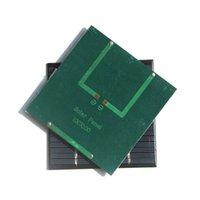 Buheshui Solarzellenmodul 1.2W 18V 100 * 100mm Solarplattenladegerät für 12V Batterie 100 * 100mm 10 stücke
