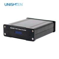 UNISHEEN NDI HX SRT H.265 H.264 IPTV 비디오 캡처 카드 상자 인코더 HDMI YouTube Facebook Wowza Onvif IP RTMPS Live 스트리밍 OBS VMIX Wirecast