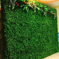 الزخرفية الزهور أكاليل تشفير الاصطناعي البلاستيك العشب حصيرة محاكاة النبات وهمية الحديقة 25 × 25 سنتيمتر 1 قطع العشب للمنزل حديقة الزفاف