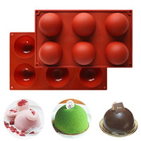 Hot Sale DIY Round Silicone Rectangle Molds Simulation Choco...