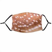 Дизайнерские маски с фильтром Pocket Tiger Leopard Design забавная маска для лица защитная ушная висящая крышка для лица маски GGB3099