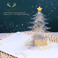 Crystal Christmas tree greeting card Christmas Card Greeting...