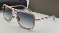 Moda Güneş Gözlüğü Bir 2030 Erkekler Tasarım Metal Vintage Basit Stil Kare Çerçeve Açık Koruma UV 400 Lens Gözlük Kılıfı Ile