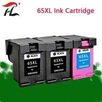 YLC 65XL Mürekkep Kartuşu Değiştirme için 65 XL 65 için Deskjet3720 3722 3755 3730 3758 Envy 5010 5020 5030 5232 Printer1