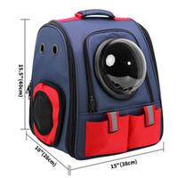 Sac à dos de chat de compagnie pour chat respirant chat portefeuille de chat sac à bandoulière pour animaux de compagnie pour petits chiens Capsule de chat Capsule de type astronaute sac de voyage SQCBQW