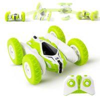 Mini RC Car Stunt Drift Deformation Bugy Car Bugy Auto Telecomando Rock Crawler Roll Cars 360 gradi Flip RC Cars Toys per bambini LJ200919