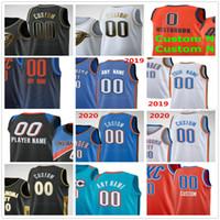 Benutzerdefinierte gedruckt 0 Westbrook 35 Durant Jaden McDaniels 77 Vincent Poirier 7 Darius Bazley 10 Ty Jerome Männer Frau Kinder Jugend Basketball Trikots