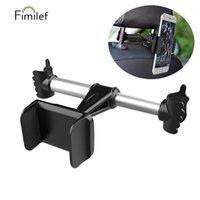 Tenedor de soportes de soporte de teléfono celular Fimilef Coche Backseat Holder for Lazy Mobile Back Asiento de asiento Tablet PC Headrest1