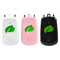 Purificateur d'air au cou suspendu, barre d'oxygène portable portable, purificateur d'air d'ion négatif rechargeable USB