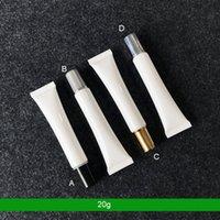 300 шт. 20г 20 мл пластиковая мягкая трубка пустая косметическая упаковка для век для век для глаз подводка для глаз для глаз вручную крем пробирки