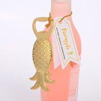 Plateado Gold Bove Bottle Openality Originalidad Piña En forma de Multi Funciones Metal Abridores de Metal Promoción Vino Regalo Nueva Llegada 2 2LT J2