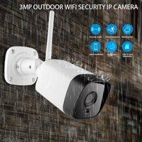 Caméscopes HD IP66 Caméra WiFi Outdoor Motion Détection Sécurité sans fil 4x Zoom numérique 3MP Network CCTV Surveillance1