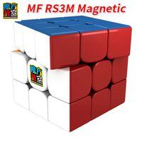 Moyu mf rs3m 3x3x3 مكعب مغناطيسي مكعب ماجيك كيوب v3 الأسود أو الشامل mf3rs3m mofangjiaoshi 3layer لغز مكعب لعب للأطفال Y200428