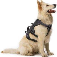 Щальское бегание жгутики жгут небезопасный жгут не тянет Регулируемый рефлексивный ходьба Животный жилет жгут для большой собаки для обучения 201126