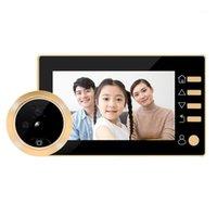 Türklinke Mool 4,3-Zoll-Türklingel-Viewer-Digital-Tür-Peephol-Kamera 1MP drahtloses Video IR-Nachtsicht-Bewegungs-Sensor1
