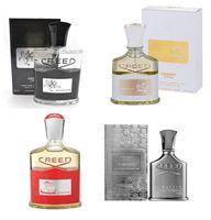 Golden Edition Creed 향수 밀레 네이트 제국 향수 남성용 여성을위한 Unisex 향수 100 ml 무료 배송