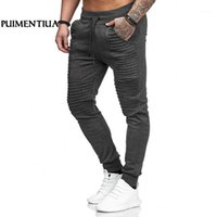 Erkek Koşu Pantolon Jogging Pantolon Erkekler Pantolon Büyük Boy Erkek Spor Egzersiz Fitness Giysileri Cep Ile Puimentiua TS1
