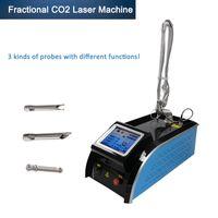 أفضل جودة المحمولة CO2 كسور الجلد الليزر الظهور إزالة ندبة إزالة معدات التجميل الليزر dhl