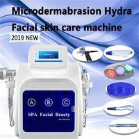 Новая гидрабразия Hydra Microdermabration Peel Faceal Hydrafacial Machine / кислородный спрей гидромасштабной микродермабразии машины для ухода за лицом CE / DHL