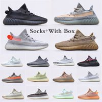 2021 Adidas Kanye Yeezy 350 v2 Scarpe da corsa Abez Antlia Israfil Aston Static ISRAFIL LINESS STATICO Riflettente V2 Scarpe da ginnastica Yeezy 350 v2 Sneaker Sneaker con scatola