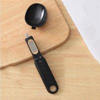 Ölçüm Kaşık Ev Mutfak Dijital Elektronik Ölçekli El Gram Ölçekli LCD Ekran Pişirme Terazi Tartım Dengesi Terazi Terazi DVC5991